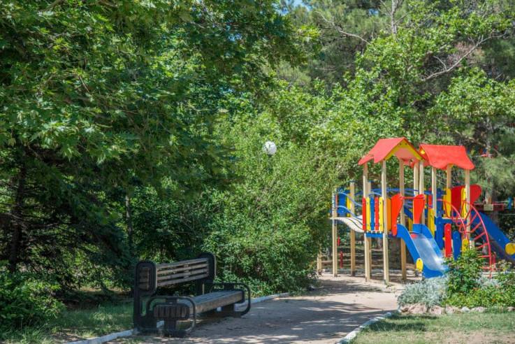 Pogostite.ru - Южный пансионат | пгт. Николаевка | 1 линия | бассейн | собственный пляж | детская площадка #6