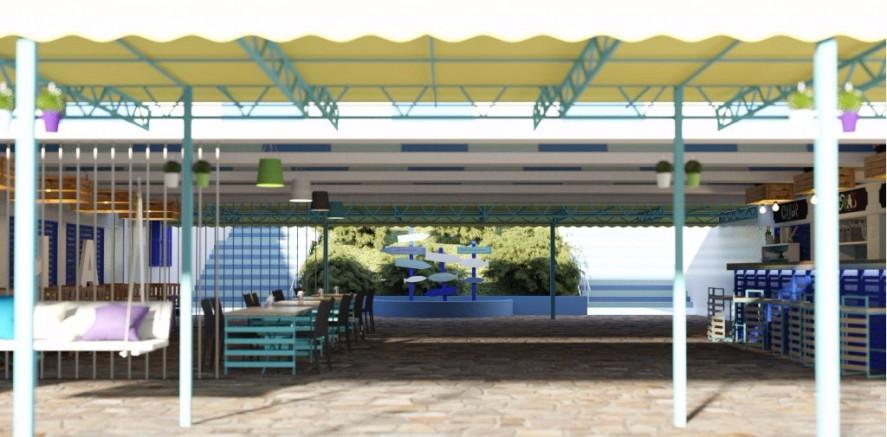 Pogostite.ru - Южный пансионат | пгт. Николаевка | 1 линия | бассейн | собственный пляж | детская площадка #9