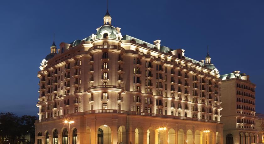 Pogostite.ru - Four Seasons Hotel Baku - Фо Сизонс Хотел Баку | исторический центр | бассейн #1