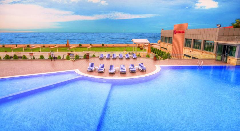 Pogostite.ru - Ramada Baku Hotel - Рамада Баку Хотел | 1-линия | частный пляж | бассейн #27