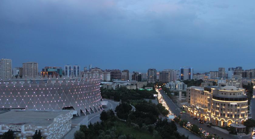 Pogostite.ru - Европа | г. Баку | бассейн | джакузи | вид на море #4