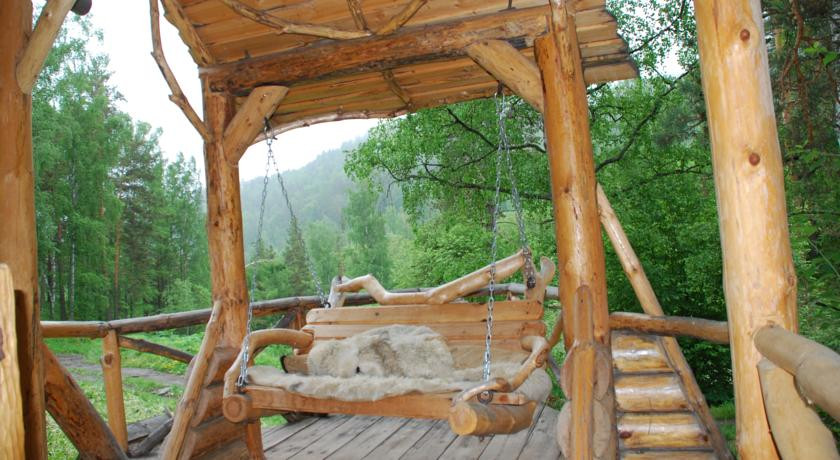 Pogostite.ru - Лесная дача | лыжный подъемник | озеро | предгорья Алтая #6