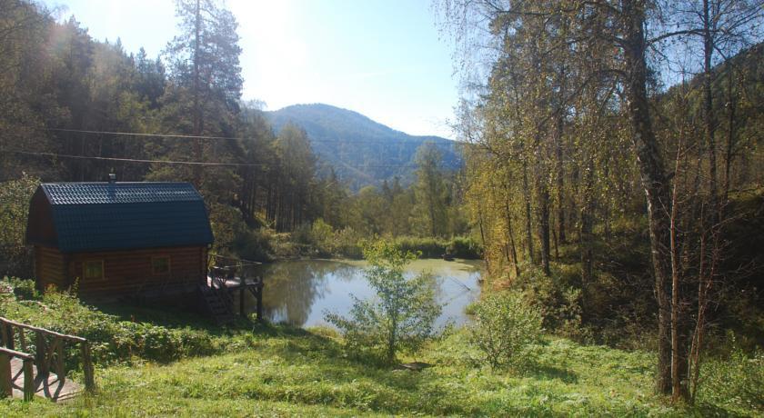Pogostite.ru - Лесная дача | лыжный подъемник | озеро | предгорья Алтая #2