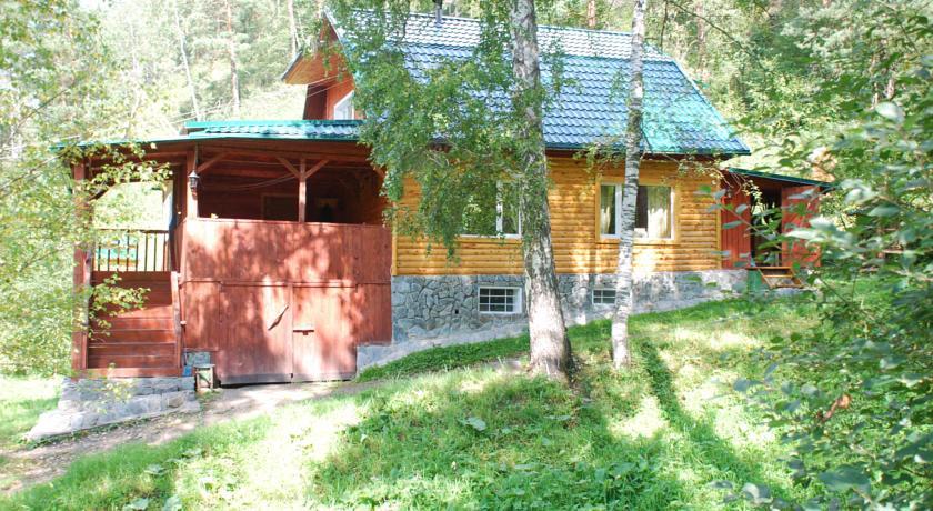Pogostite.ru - Лесная дача | лыжный подъемник | озеро | предгорья Алтая #3