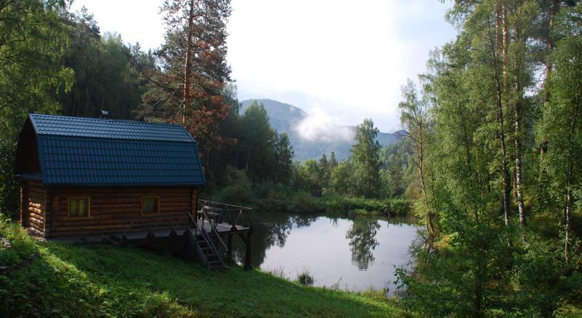 Pogostite.ru - Лесная дача | лыжный подъемник | озеро | предгорья Алтая #1
