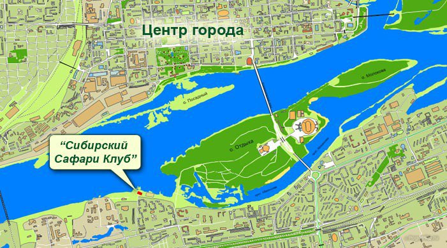 Pogostite.ru - СИБИРСКИЙ САФАРИ КЛУБ (г. Красноярск, набережная реки Енисей) #1