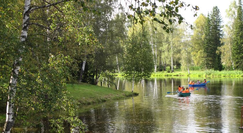 Pogostite.ru - ОЗЕРКИ БАЗА ОТДЫХА - КОТТЕДЖИ | бассейн | детская площадка | парковка #19