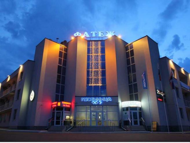 Pogostite.ru - ФАТЕЖ  | г .Фатеж | трасса Е 95 | сауна | парковка #1