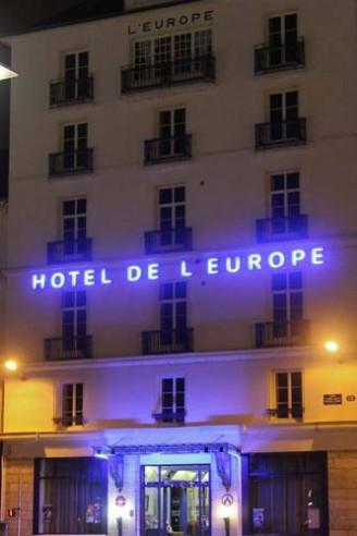 Pogostite.ru - Citotel Hotel de L'Europe |  де Л Европе | Тура | площадь Жан-Жорес | домашние животные | #5