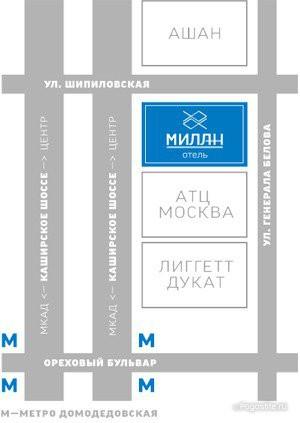 Pogostite.ru - МИЛАН | м. Домедовская | Красногвардейская | джакузи | свадебные номера #41