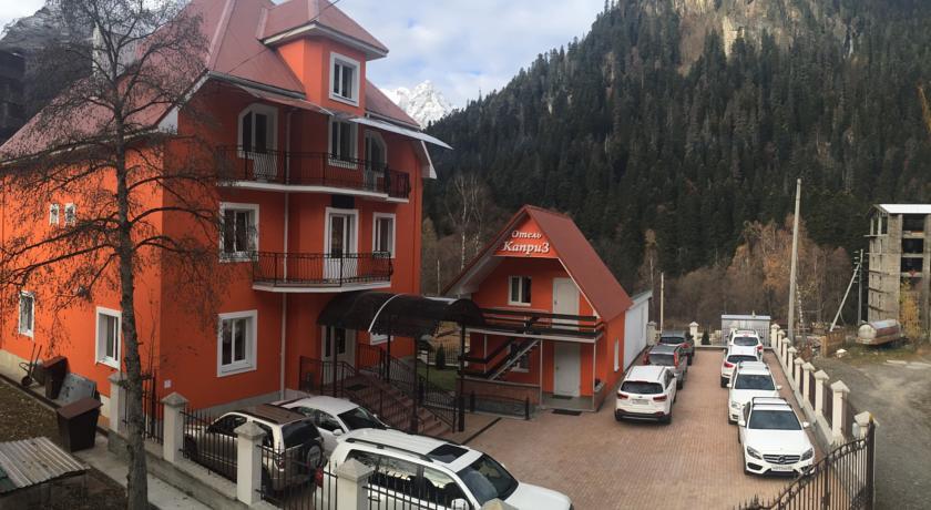 Pogostite.ru - Каприз | Домбай | р. Домбай-Ульген | Катание на лыжах | #5