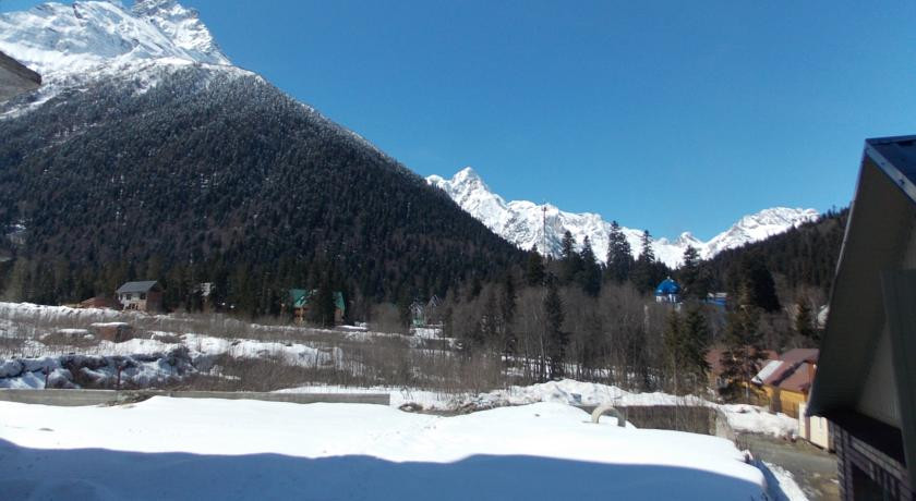 Pogostite.ru - Сокол | Домбай | р. Аманауз | Катание на лыжах | #7