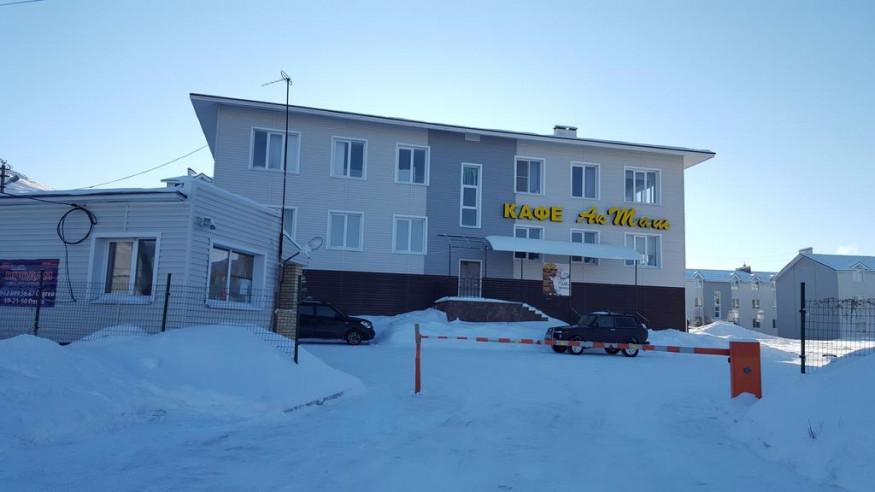 Pogostite.ru - Апартаменты Студио Алтынай   поселок Зеленая поляна  озеро Банное   Катание на лыжах #4