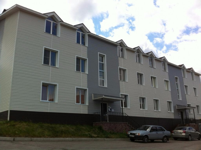 Pogostite.ru - Апартаменты Студио Алтынай   поселок Зеленая поляна  озеро Банное   Катание на лыжах #5