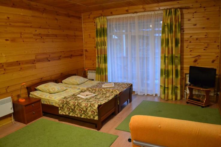 Pogostite.ru - Апартаменты Халле | Зеленая поляна | оз. Банное | Лыжный спорт | #9
