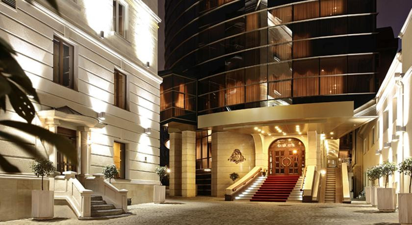 Pogostite.ru - Nobil Luxury Boutique Hotel   Кишинев   оз. Валя Малирол   Сауна   #1