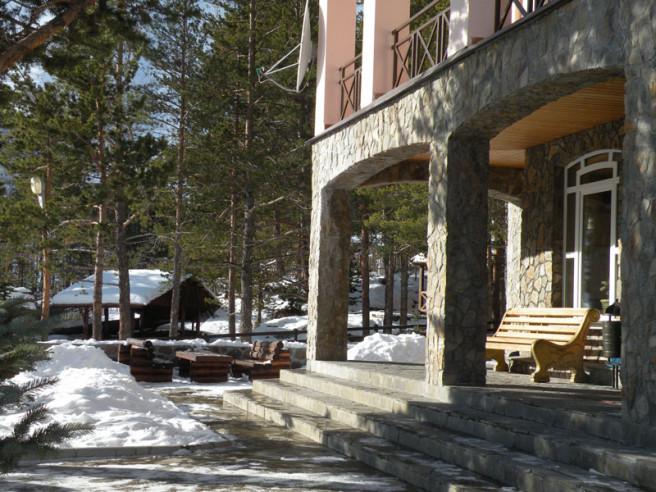 Pogostite.ru - Балкария | Поляна Азау | Парковка | Катание на лыжах #3