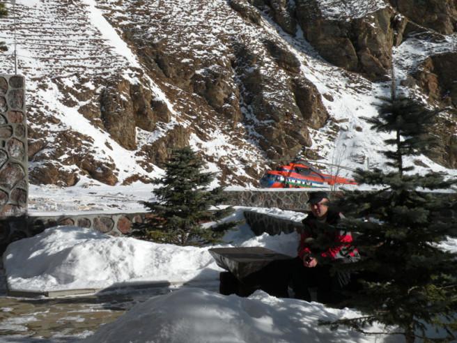 Pogostite.ru - Балкария | Поляна Азау | Парковка | Катание на лыжах #5