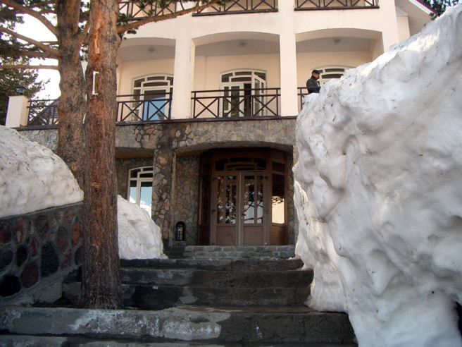Pogostite.ru - Балкария | Поляна Азау | Парковка | Катание на лыжах #8
