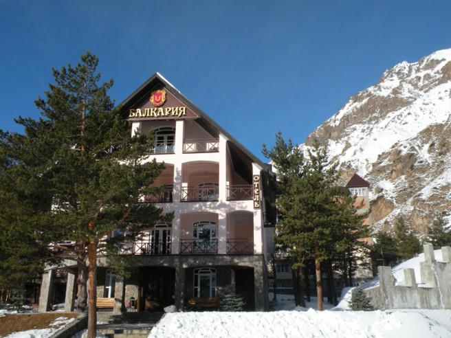 Pogostite.ru - Балкария | Поляна Азау | Парковка | Катание на лыжах #2