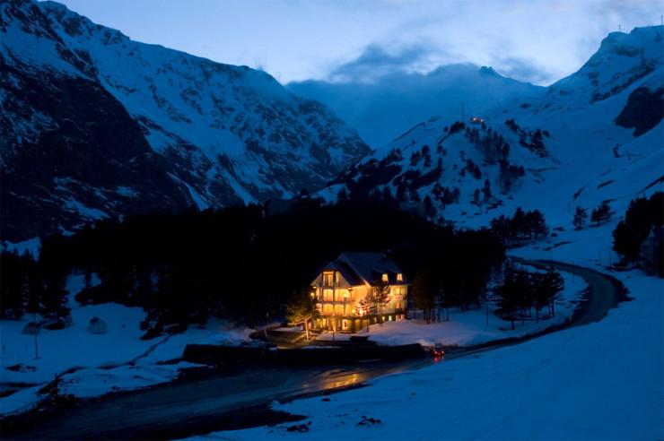 Pogostite.ru - Балкария | Поляна Азау | Парковка | Катание на лыжах #9