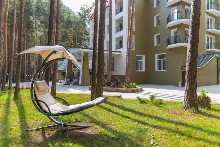 Pogostite.ru - Sky Эльбрус | Горнолыжный курорт Приэльбрусье | г. Эльбрус | Парковка #2
