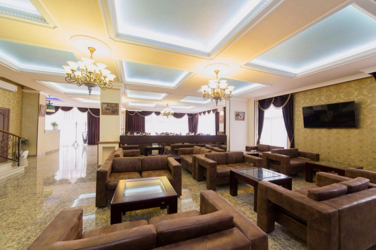 Pogostite.ru - ANI Boutique Hotel   Олимпийский парк Сочи   Черное море   Парковка #13