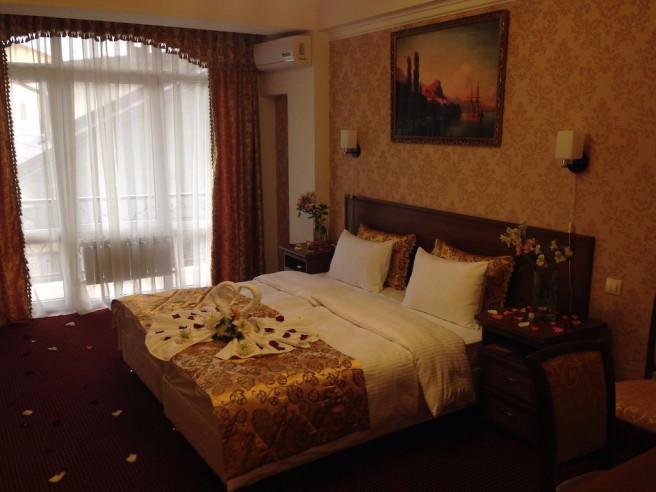 Pogostite.ru - ANI Boutique Hotel   Олимпийский парк Сочи   Черное море   Парковка #14