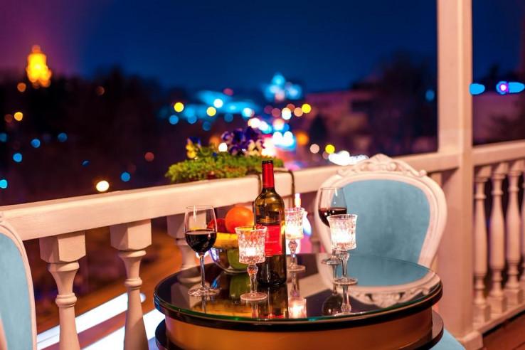 Pogostite.ru - Ривер Сайд Тбилиси - River Side Tbilisi   С завтраком    Правый берег р. Мтквари #7