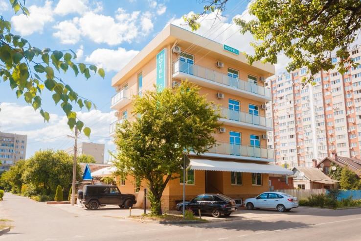Pogostite.ru - Бутик-отель Корона | Краснодар | Парковка #1
