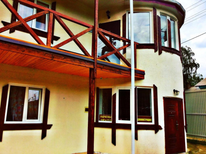Pogostite.ru - Guama Guest House | Гостевой дом Гуама | Парковка #8