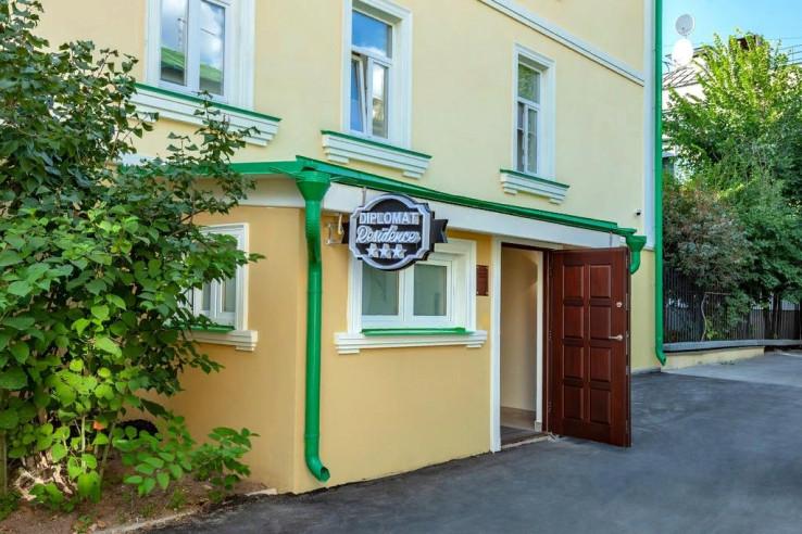 Pogostite.ru - Дипломат Резиденс | Diplomat Residence Hotel | Станция метро Полянка | Парковка #2