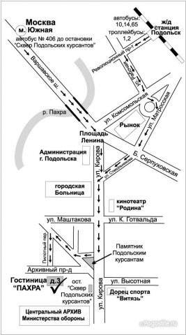Pogostite.ru - ПАХРА (город Подольск, военный городок) #41