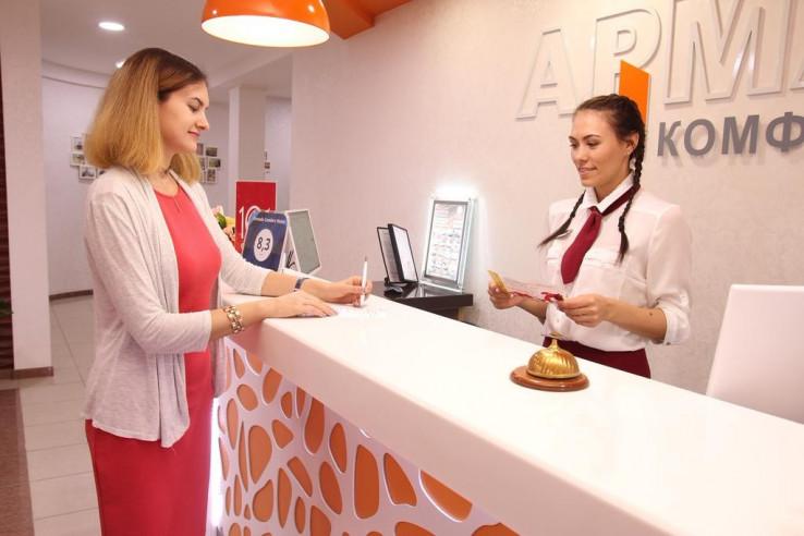 Pogostite.ru - АРМАДА КОМФОРТ Отель | г. Оренбург | Север, Шарлыкское шоссе #22