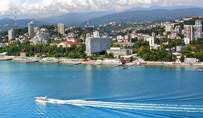 Pogostite.ru - ЖЕМЧУЖИНА   г. Сочи   подогреваемый бассейн с морской водой   1 линия #1