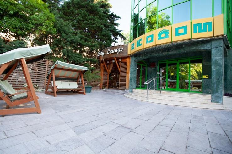 Pogostite.ru - ЭКОДОМ | г. Сочи | парк Ривьерра | бассейн | турецкая баня #4